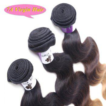 Fashion 7A Vigrin Hair Three Color Gradient 3 Pcs/Lot Body Wave Brazilian Hair Weave For Women - OMBRE 16INCH*18INCH*20INCH