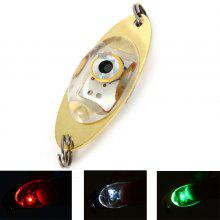 LED Lure Enhancer Flashing Light ( with Green Red White 3 Colors ) + 2 Stainless Steel Rings