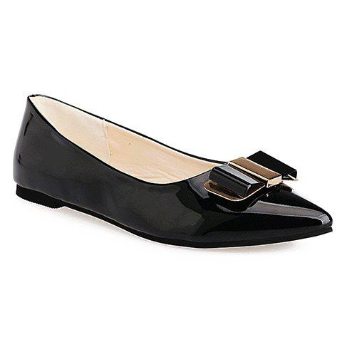 Bow Design Flat Shoes For Women