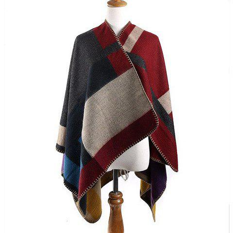 Chic Geometric Pattern Women's Pashmina - AS THE PICTURE