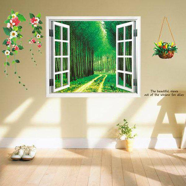 A Set of Chic Home Decoration PVC Landscape Decorative Wall Stickers