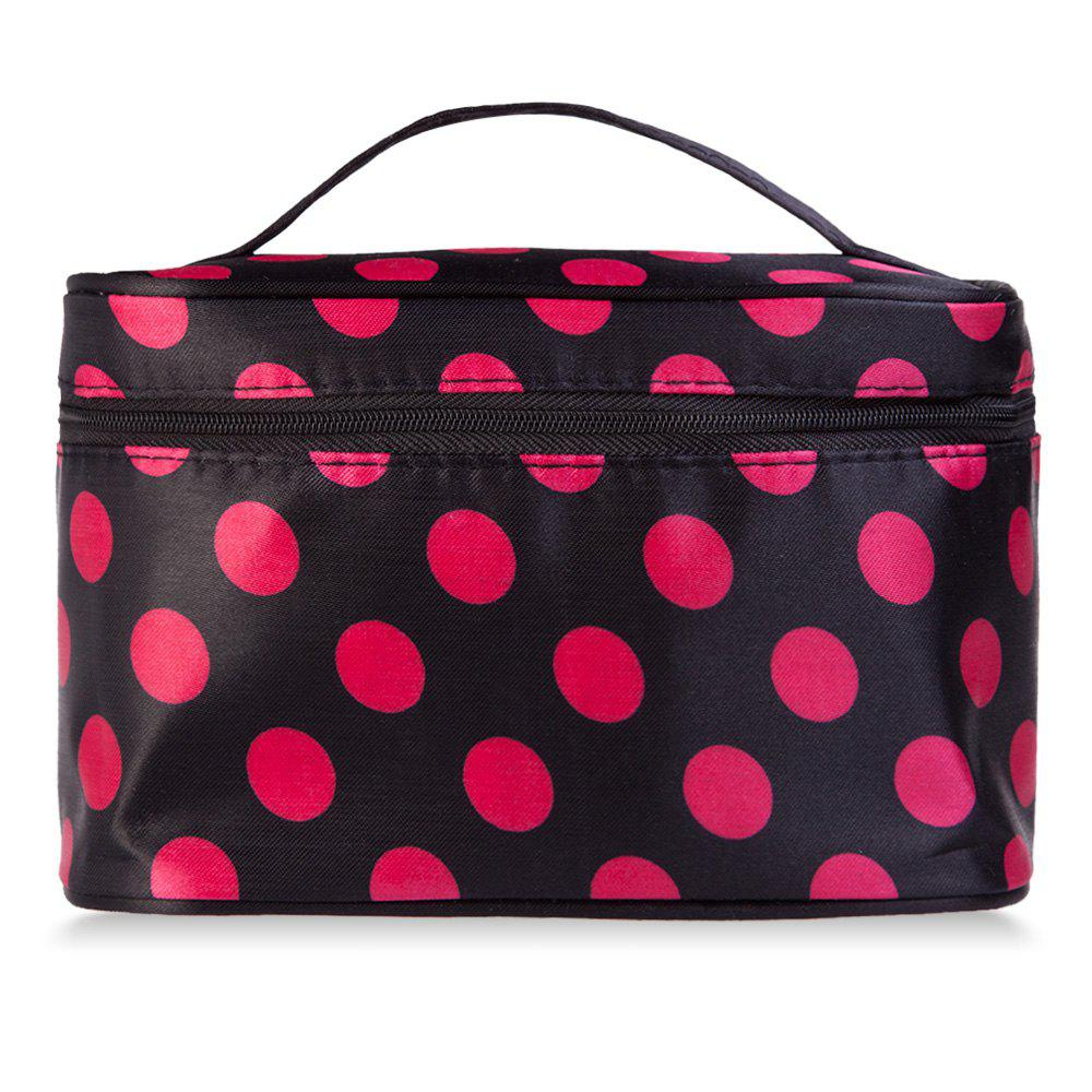 Guapabien Fashion Polka Dot Print Storage Wash Receive Bag - COLORFUL