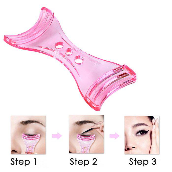 Anti-tremor Eyeliner Card Aid Tool Helper Beauty Gadgets - PINK