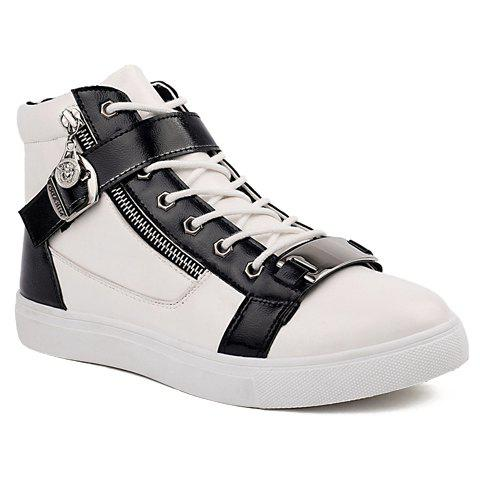 Trendy Buckle and Metal Design Casual Shoes For Men
