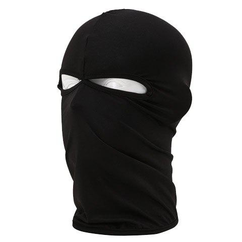 Stylish Men and Women's Solid Color Cycling Outdoor Protective Masked Hat - COLOR ASSORTED