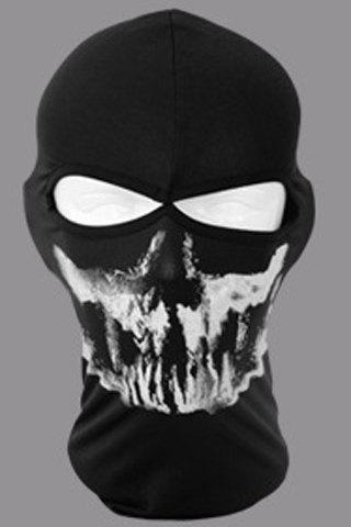 Stylish Ghost Pattern Outdoor Men's Protective Headgear - RANDOM COLOR PATTERN