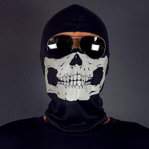 Stylish Skull Pattern Mask Outdoor Men's Protective Headgear - RANDOM COLOR PATTERN