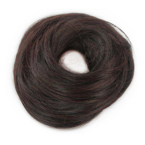 Stylish Assorted Color Heat Resistant Synthetic Straight Capless Women's Chignons - BROWN BLACK MIXED 2/33