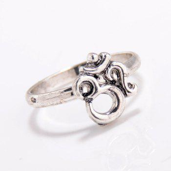 3D Number Geometric Ring