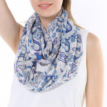 Chic Ethnic Paisley Print Multifunctional Women's Scarf