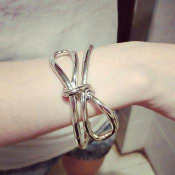 Fashionable Solid Color Bow Bracelet For Women
