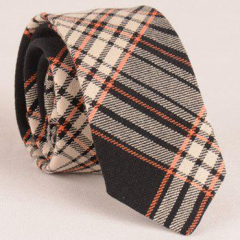 Stylish Plaid Pattern 6CM Width Men's Casual Tie - AS THE PICTURE AS THE PICTURE