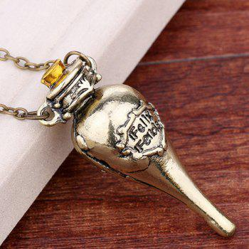Pendant Harry Potter Felixfelicis Necklace - COPPER COLOR