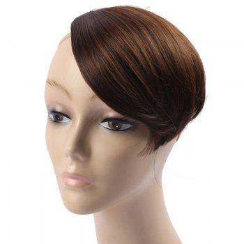 Stylish Assorted Color Straight Capless Clip-In Heat Resistant Synthetic Women's Side Bang