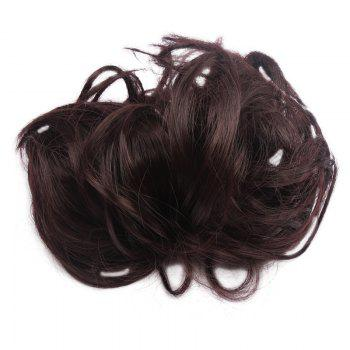 Assorted Color Fashionable Shaggy Curly Synthetic Women's Capless Chignons