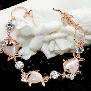 Faux Opal Fish Bracelet - RANDOM COLOR