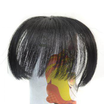 Nobby Shaggy Synthetic Straight Clip In Capless Ultrathin Women's Full Bang
