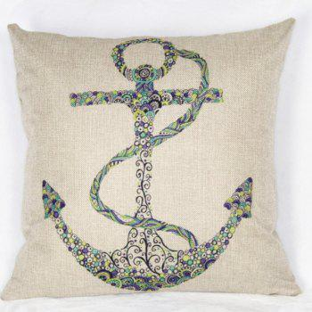 Modern Square Ancre Pattern Pillowcase(Without Pillow Inner)