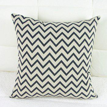 Classical Square Wave Pattern Decorative Pillowcase(Without Pillow Inner)