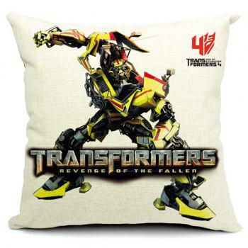 Stylish Transformers Printed Pillow Case(Without Pillow Inner) - RANDOM COLOR PATTERN