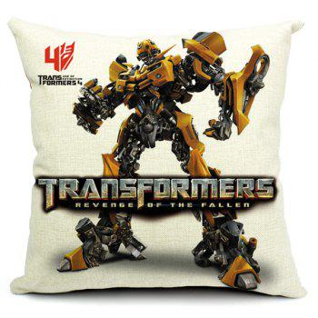 Stylish Transformers Printed Pillow Case(Without Pillow Inner)