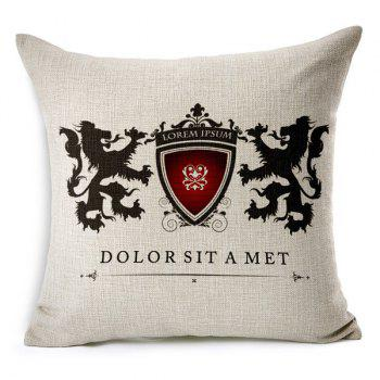 Simple Modern Style Pillow Case (Without Pillow Inner)