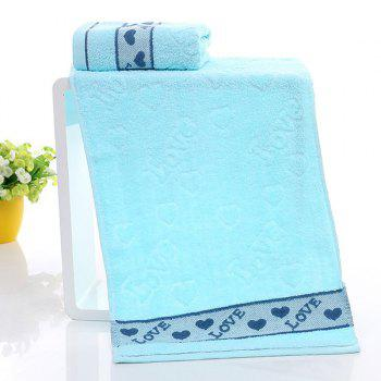 Simple New High Quality Soft Heart Face Towel Hand Towel 3 Colors