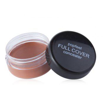 Natural Full Cover Long Lasting Smooth Concealer Makeup Cosmetics - 04#