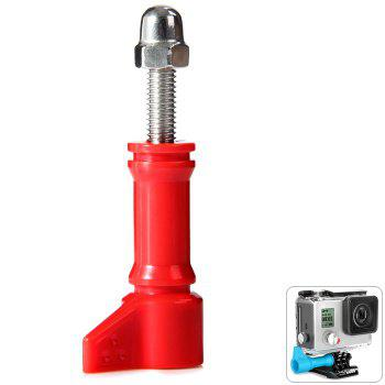 Hi-Torque Thumbscrews with PC Action Sports Camera Accessory - RED RED