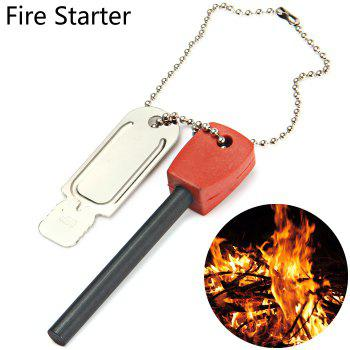 LM-3K 2 in 1 Multi-function Fire Starter with Scraper Survival Gear