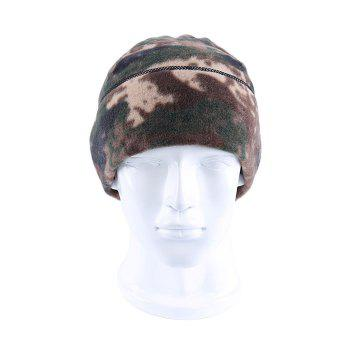 ENKAY Fleece Warm Hat Windproof Warm Double-layer Design - 21#