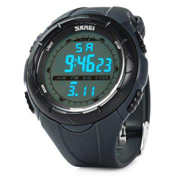 Skmei 1025 Sports Military LED Watch Week Alarm Date Stopwatch 5ATM Water Resistant