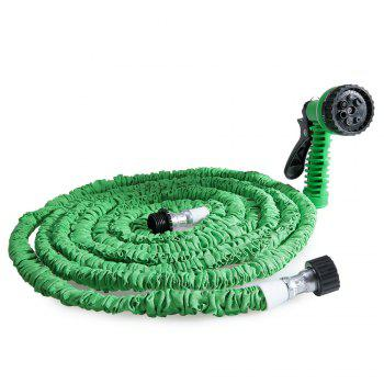 50FT Expandable Garden Hose Pipe with 7 in 1 Spray Gun - GREEN GREEN