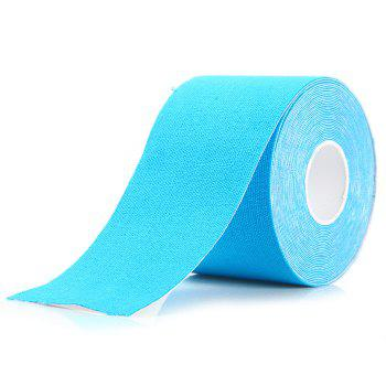 500 x 5cm Breathable Muscle Patch Elastic Sport Bandage - LIGHT BLUE LIGHT BLUE