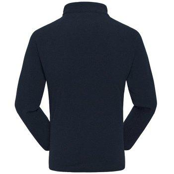 Umove Outdoor Polar Fleece Sweatshirt Warm Soft Anti-pilling for Autumn Winter - CADETBLUE MAN XL