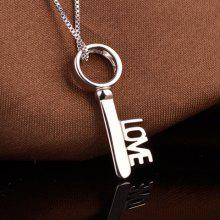 Love Key Pendant