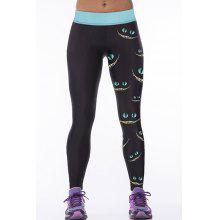 Trendy High Stretchy Eyes Yoga Leggings For Women