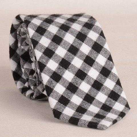 Stylish Tartan Pattern 8CM Width Men's Tie - AS THE PICTURE