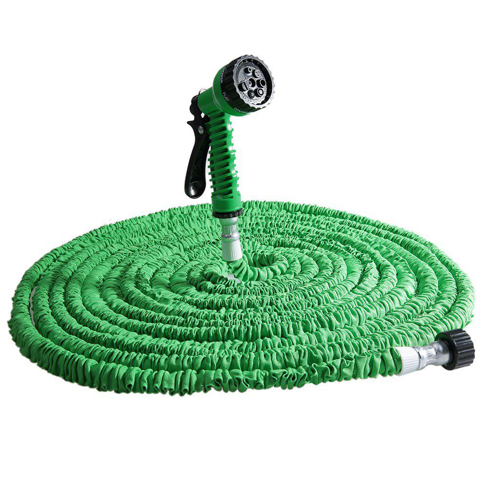 Image of 125FT Expandable Garden Hose with 7 in 1 Spray Gun