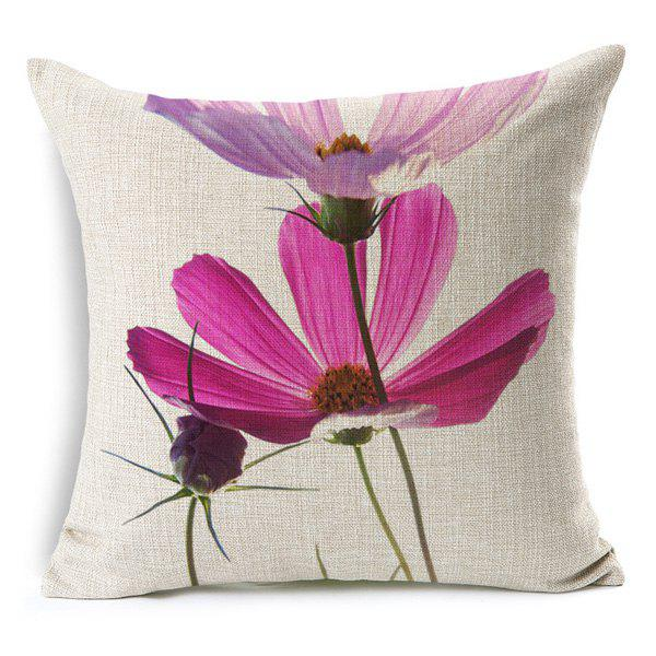 Fresh Modern Style Floral Pattern Pillow Case (Without Pillow Inner) - RANDOM COLOR PATTERN