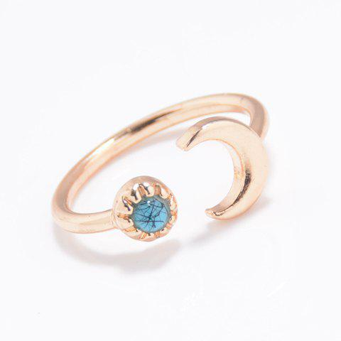 Moon Cuff Ring - GOLDEN ONE-SIZE