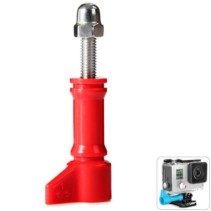 Hi-Torque Thumbscrews with PC Action Sports Camera Accessory - RED