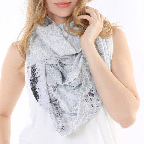 Chic Snake Skin Pattern Scarf For Women
