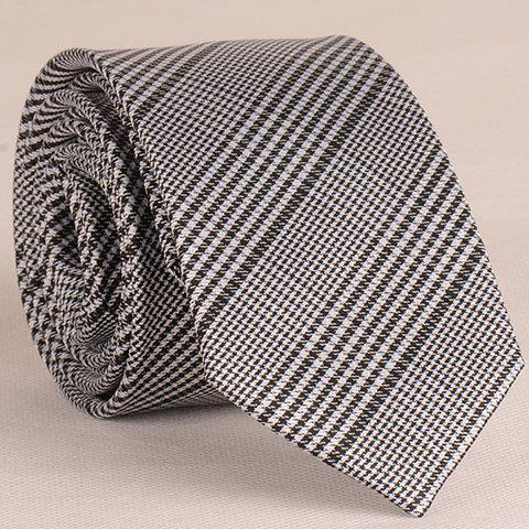 Stylish Houndstooth Pattern 6.5CM Width Tie For Men