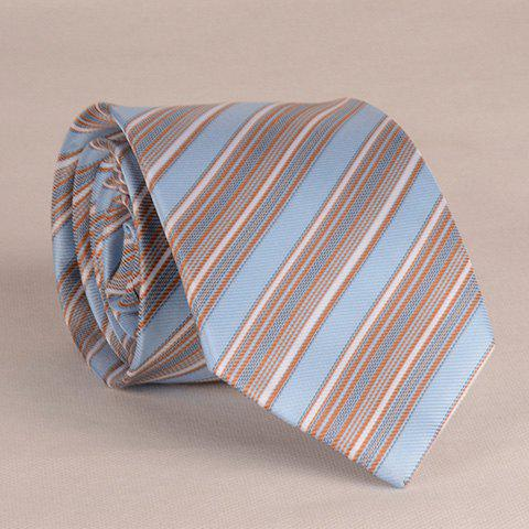 Stylish Various Size Stripe Pattern 8CM Width Tie For Men