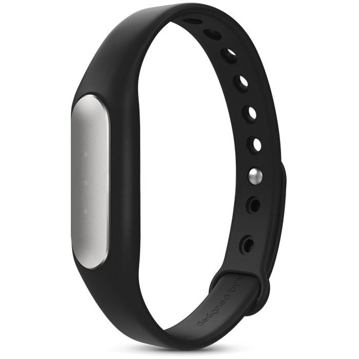 2015 Version Avancée Original Xiaomi Mi Band Intelligent Bluetooth Montre - NOIR TPSIV BANDE
