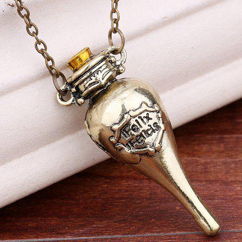 Pendant Harry Potter Felixfelicis Necklace fashionable harry potter phoenix shape pendant necklace for women
