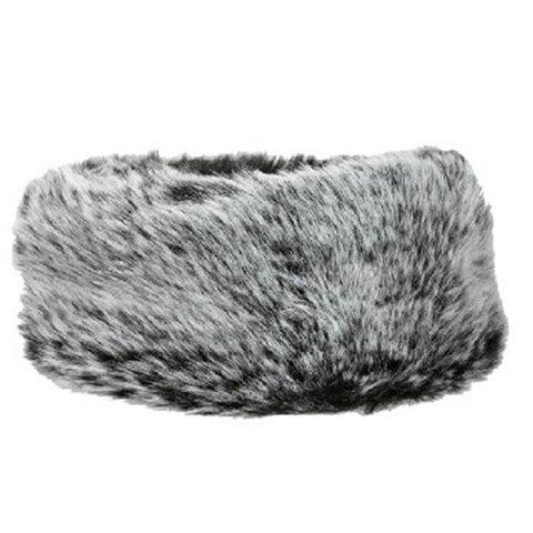Chic Women's Open Top Faux Fur Winter Downy Trapper Hat - GRAY