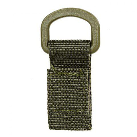 Tactical Webbing Belt Hanging Buckle Ring - ARMY GREEN 1 PIECE