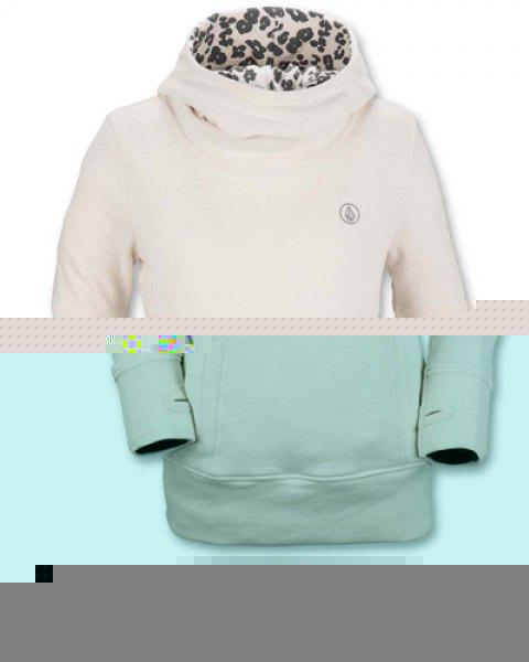 Fashionable Inner Floral Printed Hooded Sheathy Pullover Hoodie For Women